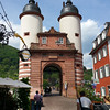 Heidelberg Germany, Approach to Bridge