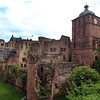 Heidelburg Germany, Castle Ruins