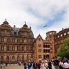 Heidelberg Germany, Castle Courtyard