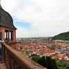 Heidelberg Germany, View on City
