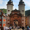 Heidelberg Germany, View on Old Bridge
