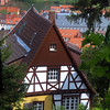 Heidelberg Germany, Half Timbered House
