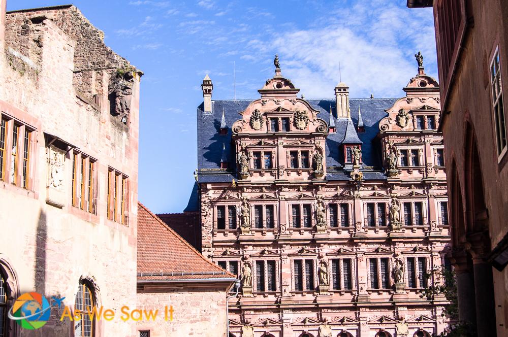 Heidelberg Castle.