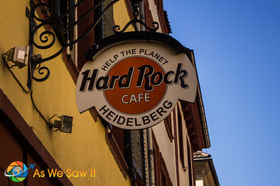 Hard Rock Cafe - Heidelberg