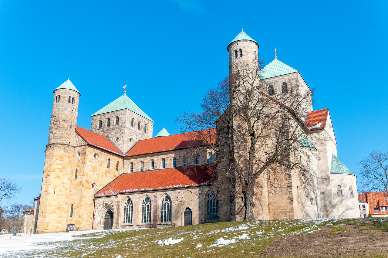 The Saint Michael's Church in Hildesheim, Germany