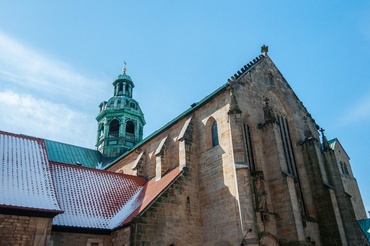St Mary's Cathedral and St Michael's Church at Hildesheim
