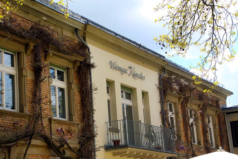 Hochheim Germany, Winery Kuenstler Exterior