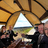 Hochheim Germany, Covered Wagon Ride Through Vineyards