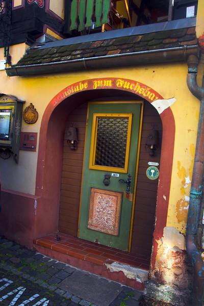 Hochheim Germany, Wine Grotto Door