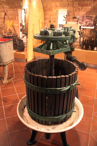 Hochheim Germany, Viniculture Museum Wine Press