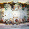 Hochheim Germany, Baroque Ceiling Fresco, Church of St. Peter & Paul