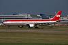 D-AERQ Airbus A330-322 c/n 127 Dusseldorf/EDDL/DUS 17-07-96 (35mm slide)