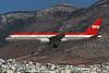 "D-AMUZ Boeing 757-2G5 ""LTU"" c/n 24497 Athens-Hellenikon/LGAT/ATH 24-09-00 (35mm slide)"