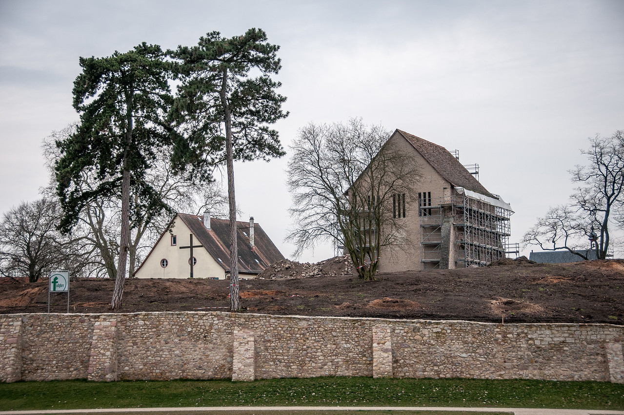 Abbey dan Altenmunster di Lorsch, Jerman