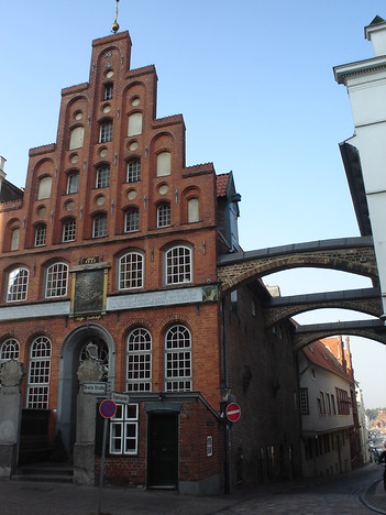 House of the Seamens Guildhall, Luebeck - Germany