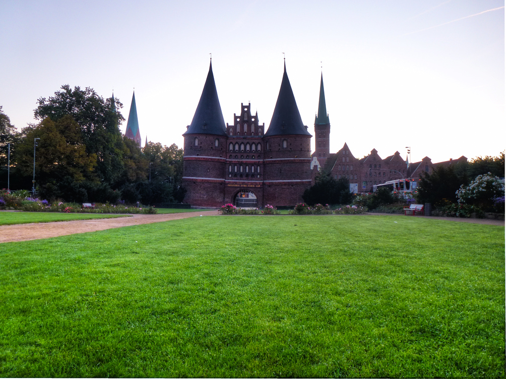 holstentor lubeck germany