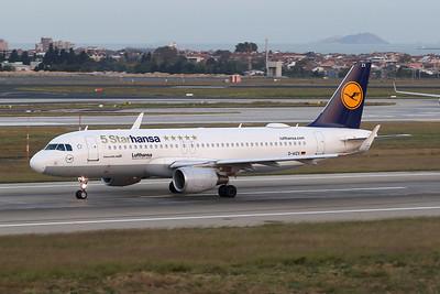 """D-AIZX Airbus A320--214 c/n 5741 Istanbul - Ataturk/LTBA/IST 09-10-18 """"5 Starhansa"""""""