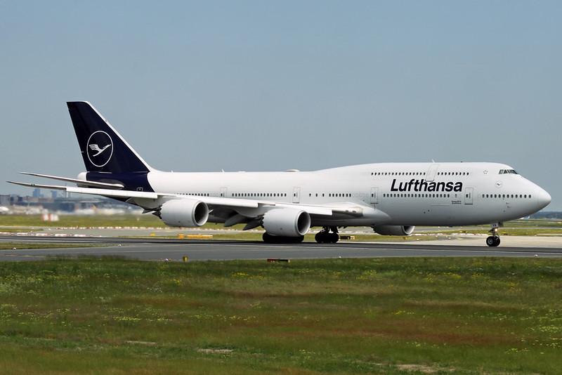 D-ABYA Boeing 747-830 c/n 37827 Frankfurt/EDDF/FRA 07-06-19