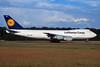 D-ABZB Boeing 747-230F c/n 23348 Frankfurt/EDDF/FRA 08-06-97 (35mm slide)