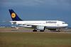 D-AIDH Airbus A310-304 c/n 527 Frankfurt/EDDF/FRA 08-06-97 (35mm slide)