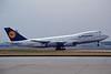D-ABYX Boeing 747-230B c/n 22670 Frankfurt/EDDF/FRA 12-07-96 (35mm slide)