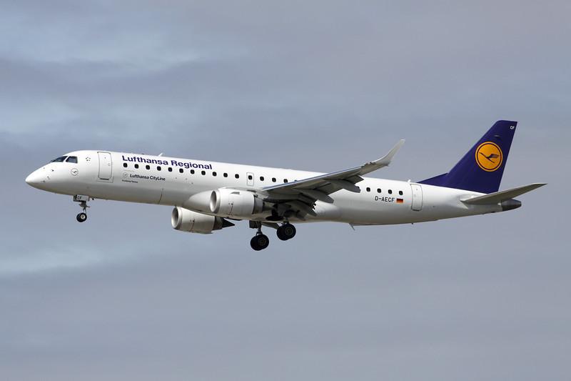 D-AECF Embraer ERJ-190LR c/n 19000359 Frankfurt/EDDF/FRA 14-04-13