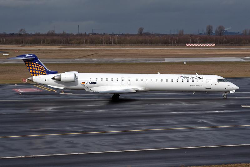 D-ACNE Canadair CRJ-900NG Regionaljet c/n 15241 Dusseldorf/EDDL/DUS 25-02-10