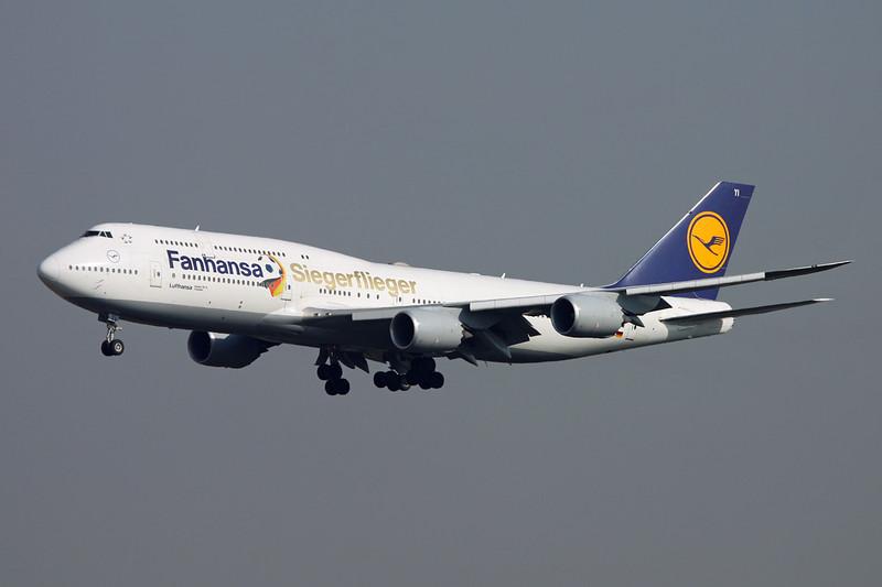"D-ABYI Boeing 747-830 c/n 37833 Frankfurt/EDDF/FRA 24-09-16 ""Siegerflieger"""