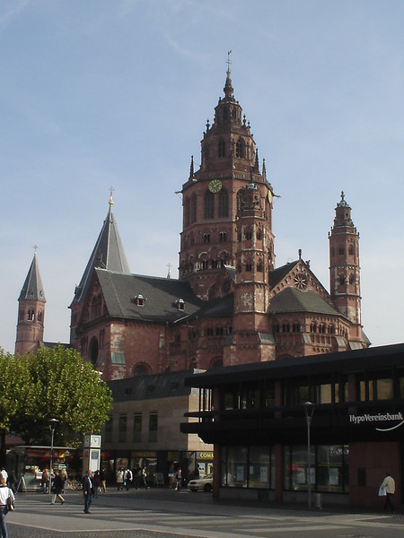 St Martins Cathedral, Mainz - Germany