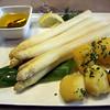 Michelstadt Germany,  Restaurant Zum Gruenen Baum, White Asparagus