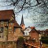 Michelstadt Germany, Castle Bridge