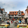 Michelstadt Germany, Town Square