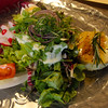 Michelstadt Germany, Restaurant Zum Gruenen Baum, Garden Salad with Farm Cheese