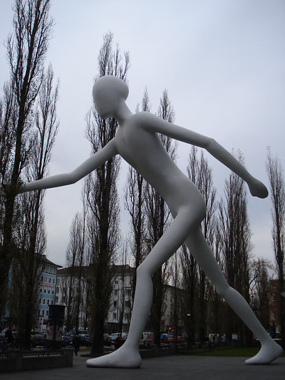 The Walking Man, Munich - Germany
