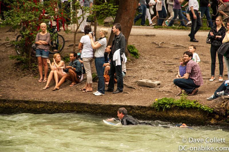 Swimming back upstream
