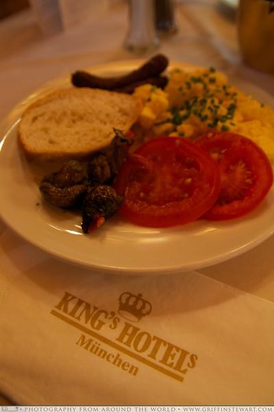 King's Hotel Center Breakfast