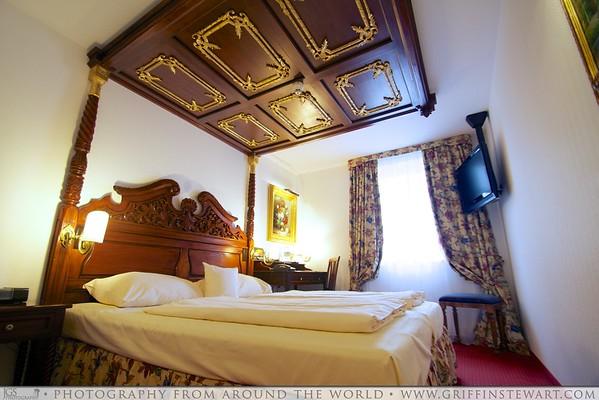 King's Hotel Munich - Bed