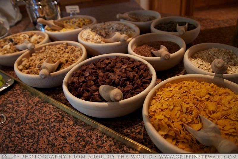 King's Hotel Center Breakfast Cerials