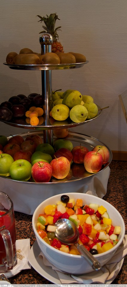 King's Hotel Center Breakfast Fruits