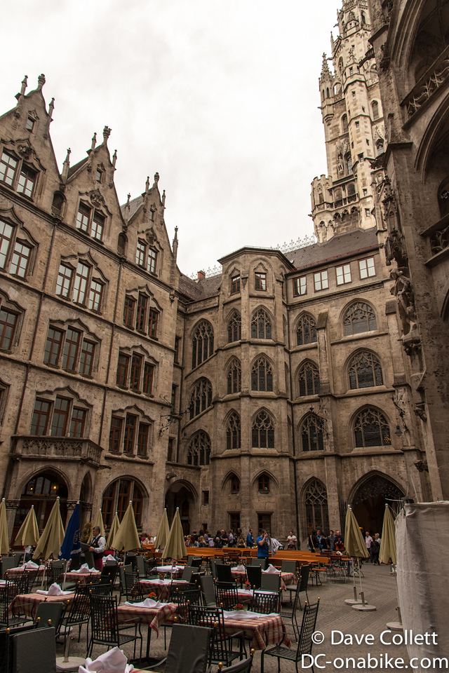Near the Marienplatz