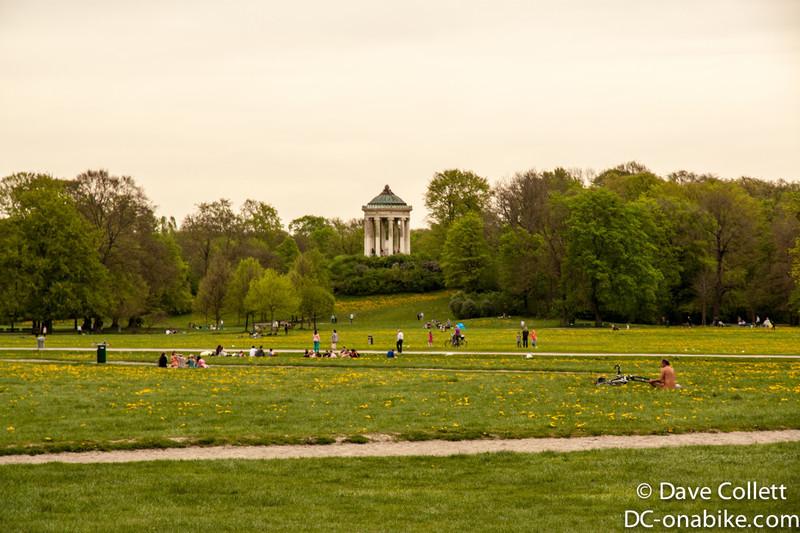 In the big Englischer Garden