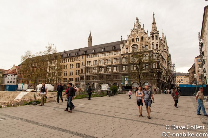 Near the Marienplatz