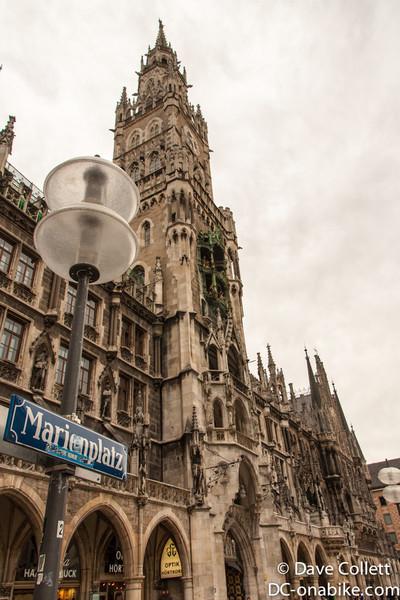 Marienplatz sign