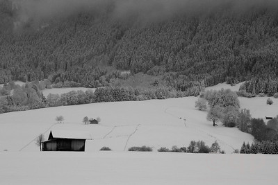 BAVARIAN WINTER SNOWSCAPE