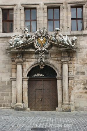 Nuremberg - Old Town Hall - Door 1