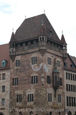 Nuremberg - Medieval tower house