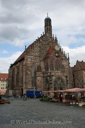Nuremberg - Hauptmarkt Square - Frauenkirche (Church of Our Lady)