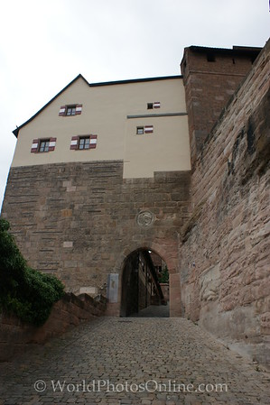 Nuremberg - Imperial Castle - Carriage Entrance