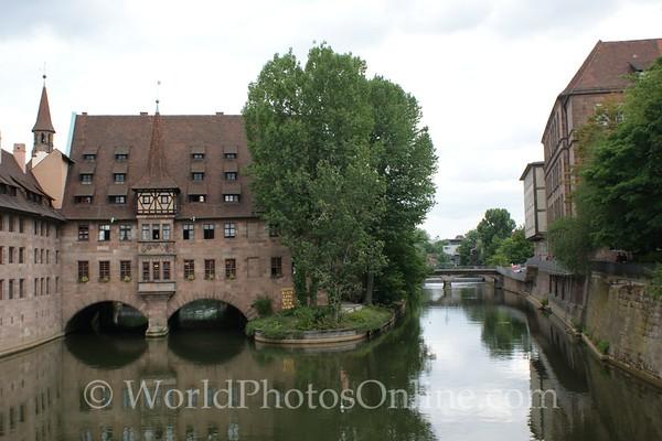 Nuremberg - Museumsbrucke