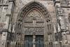 Nuremberg - St  Lorenz (medieval) Church - Main Door